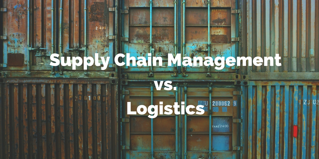 Difference Between Logistics And Supply Chain